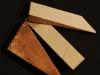 Клинья под шпалы и рельсы деревянные
